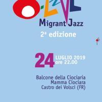 Jazz'o-Live Migrant Jazz giunge alla II^ edizione: da non perdere