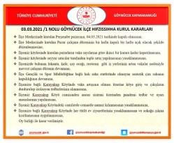 Amasya'da karantinaya alınan köyde sokağa çıkma kısıtlaması