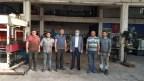 Başkan Üçok, sanayi sitesi esnafını dolaştı