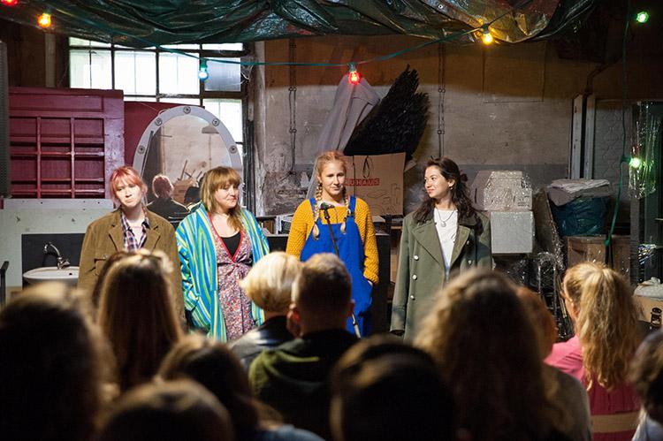 Pioneer project presentation at Glej Theatre, Ljubljana, May 2018