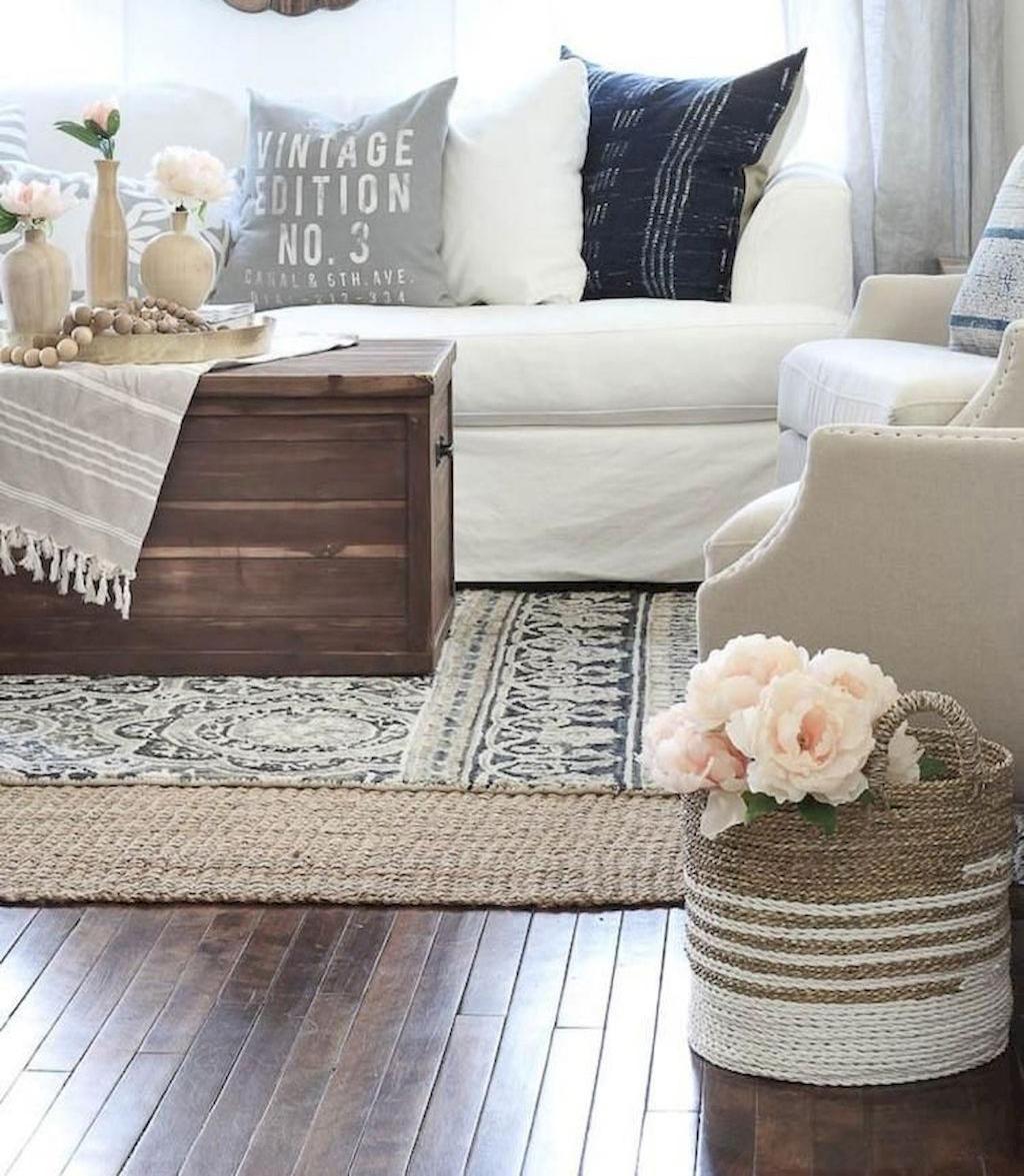 Come disporre il tappeto in soggiorno e sala da pranzo