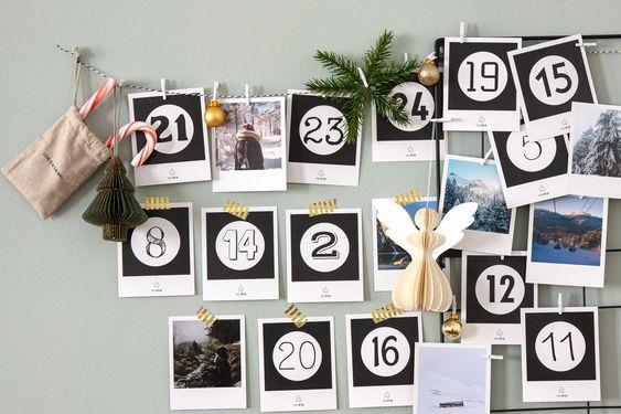 Un calendario dell'Avvento fotografico