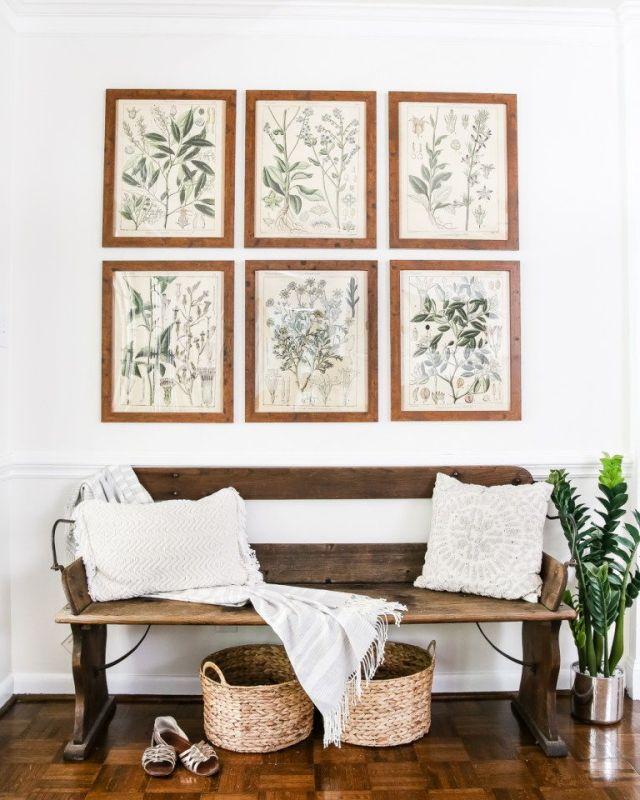Stampe botaniche per la casa naturale estiva blesserhouse