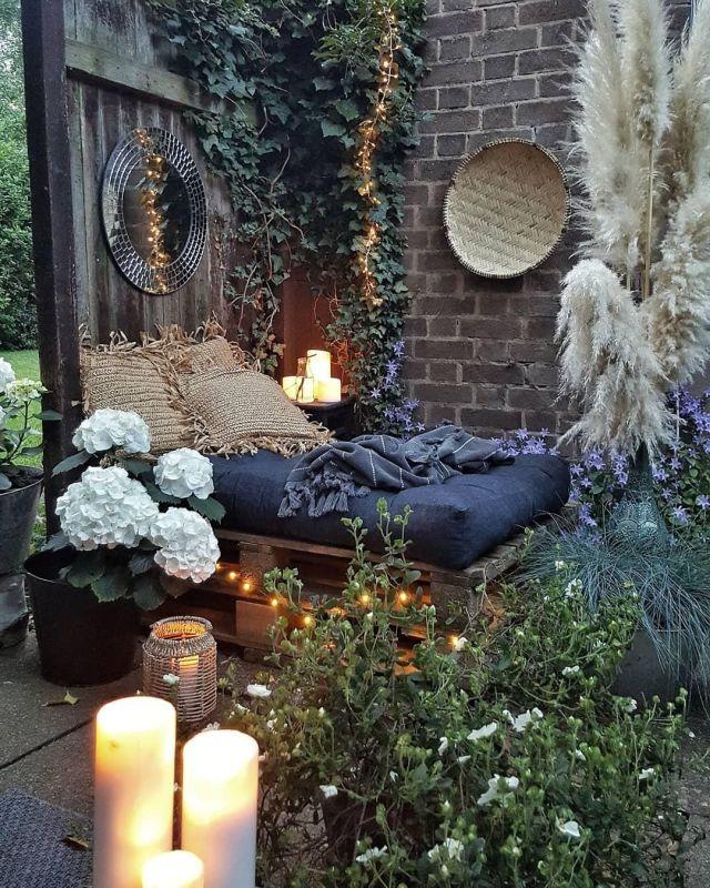 Un angolo relax per il tuo giardino hygge