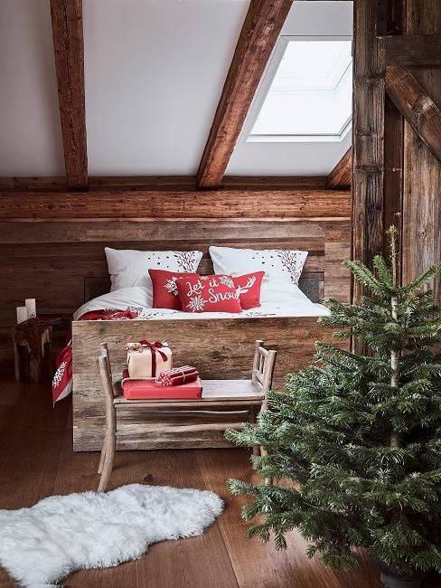 Camera di Natale in stile alpino su Westwing