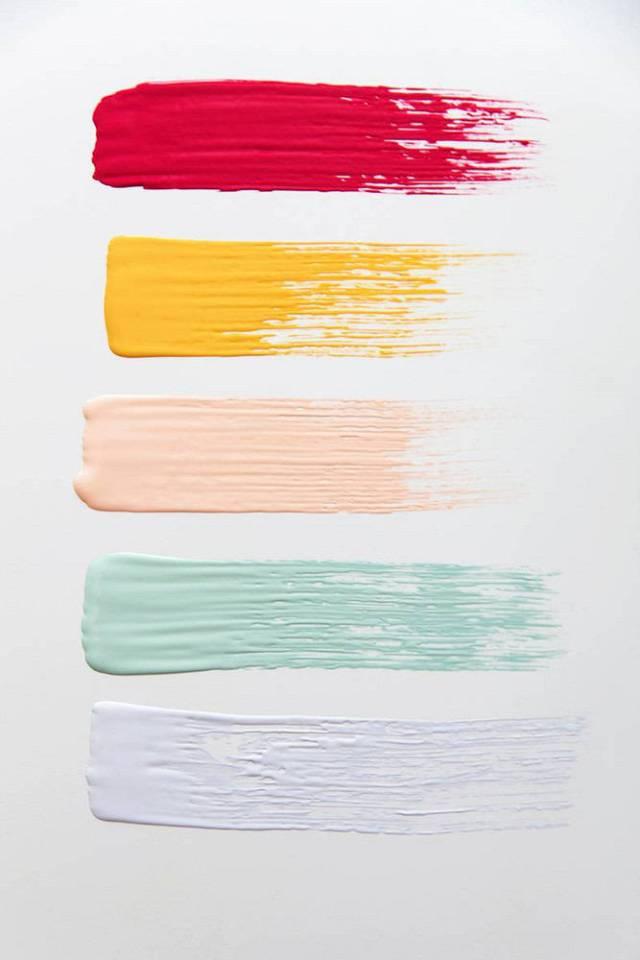 Palette colori sorbetto