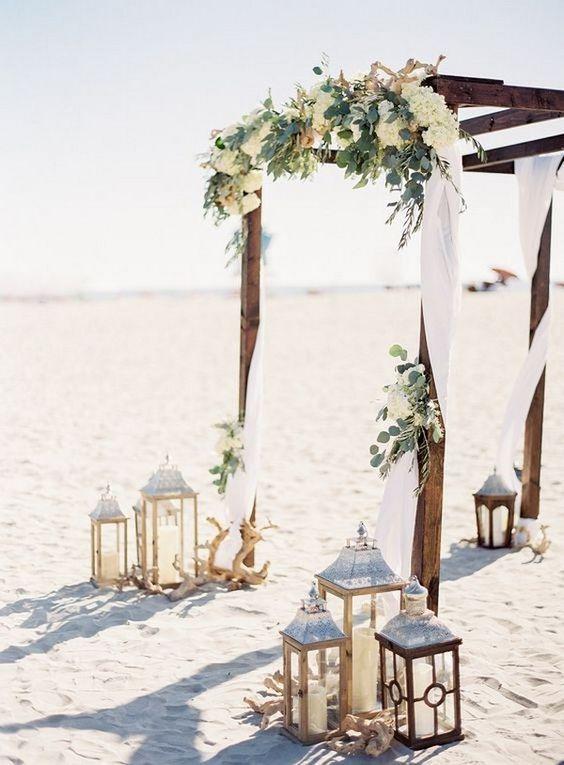 Arco per cerimonia in spiaggia