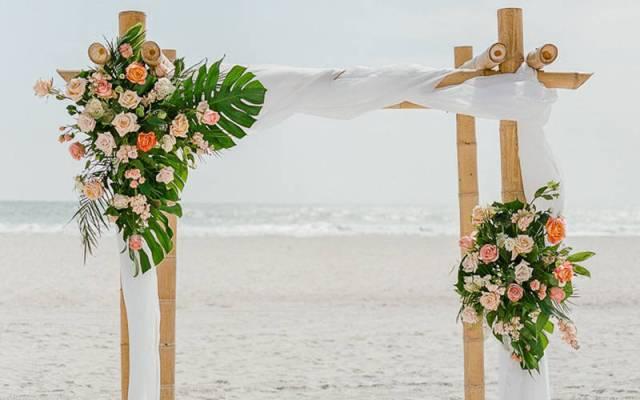 Matrimonio estivo in spiaggia