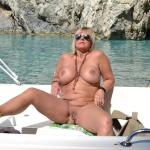 MIS FETICHES: NUDE CHRISSY ZACKYNTHOS BOAT TRIP I