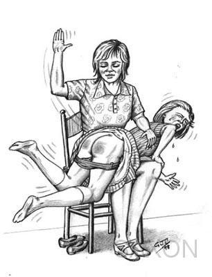 alan lawrence spanking drawings