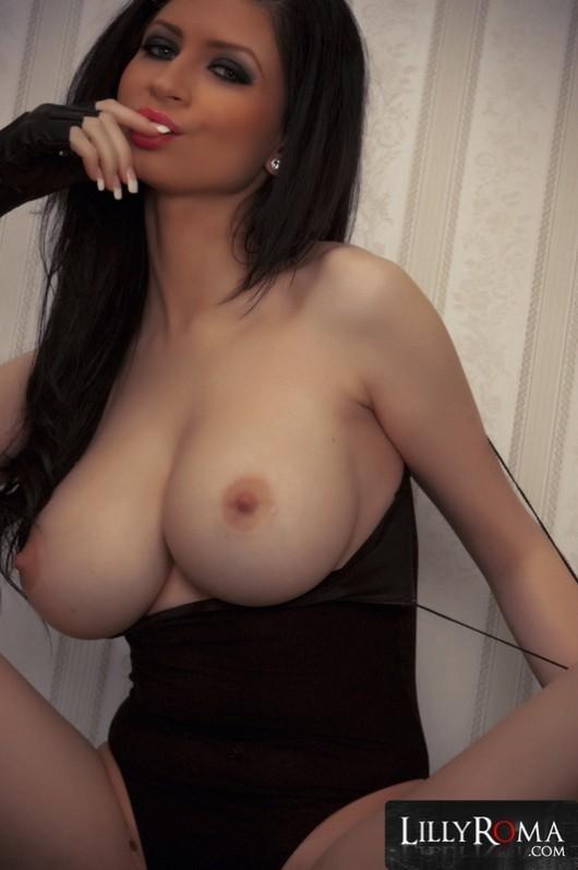 Brunette Creampie Big Tits