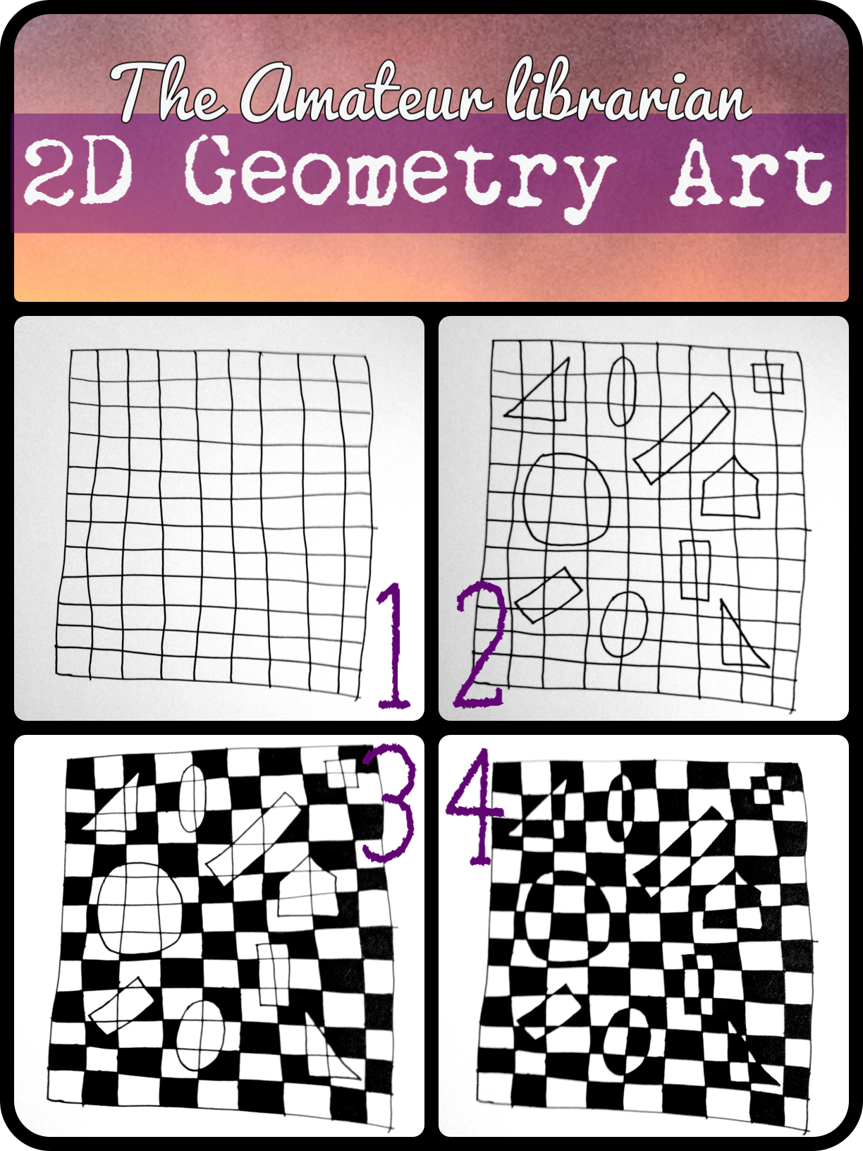 Graph Paper Coloring Pages