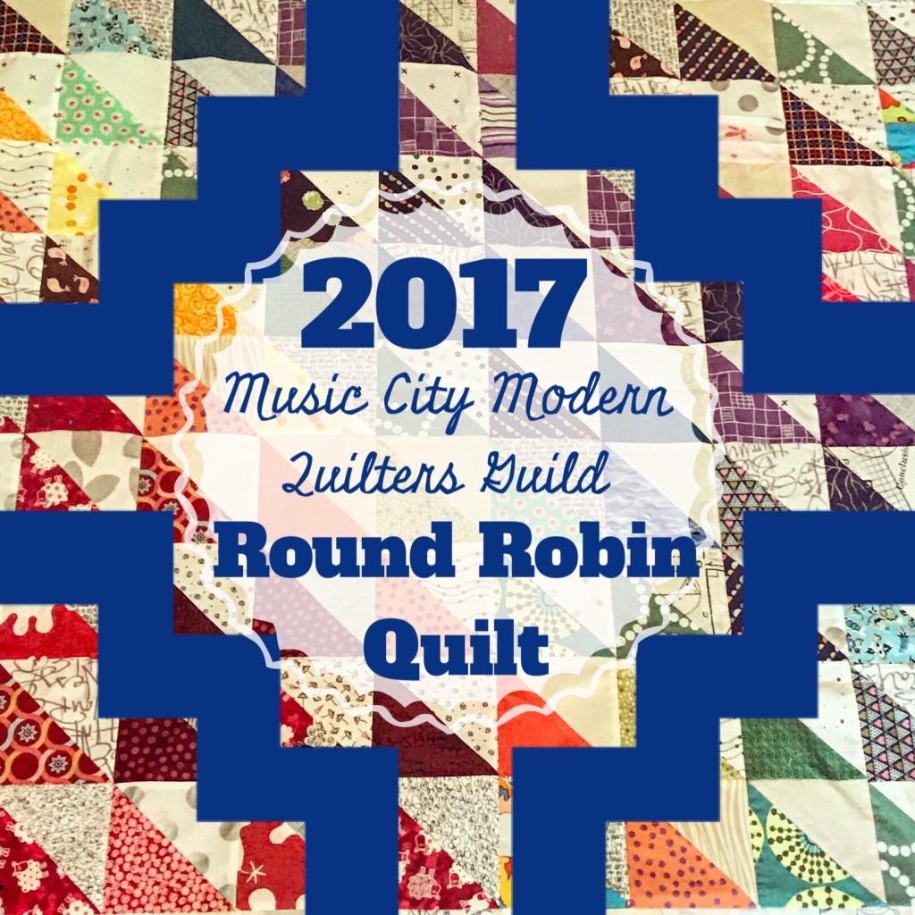 Round Robin Quilt: Round 1