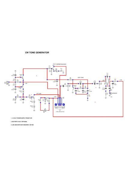 cw generator schematic