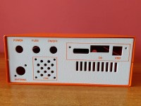 BACK PANEL ORANGE CASE UBITX