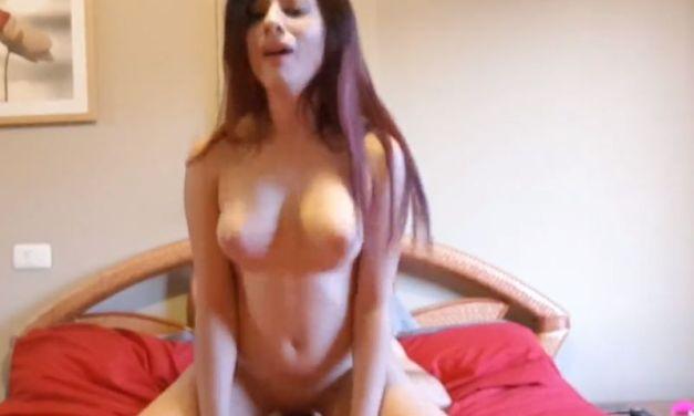 Tinderdate, Spaanse studente met grote tieten, wil anale seks