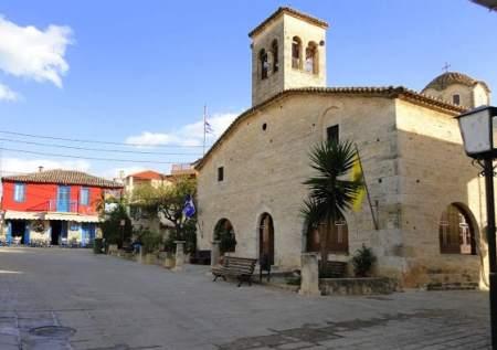 The Church of Agios Demetrius