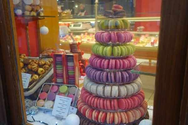 Colorful Macaroons in Alsatian Bakery