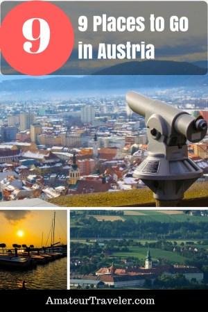 9 Places to Go in Austria