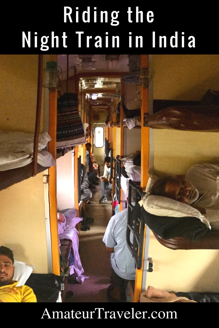 Riding the Night Train in India