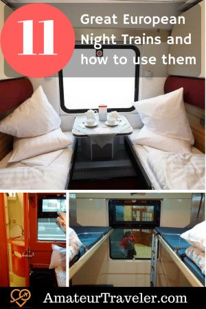 11 Exciting European Night trains and How to Use Them like a Pro