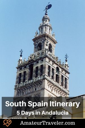South Spain Itinerary - 5 Days in Andalucia #spain #andalucia #cordoba #itinerary #places #cordoba