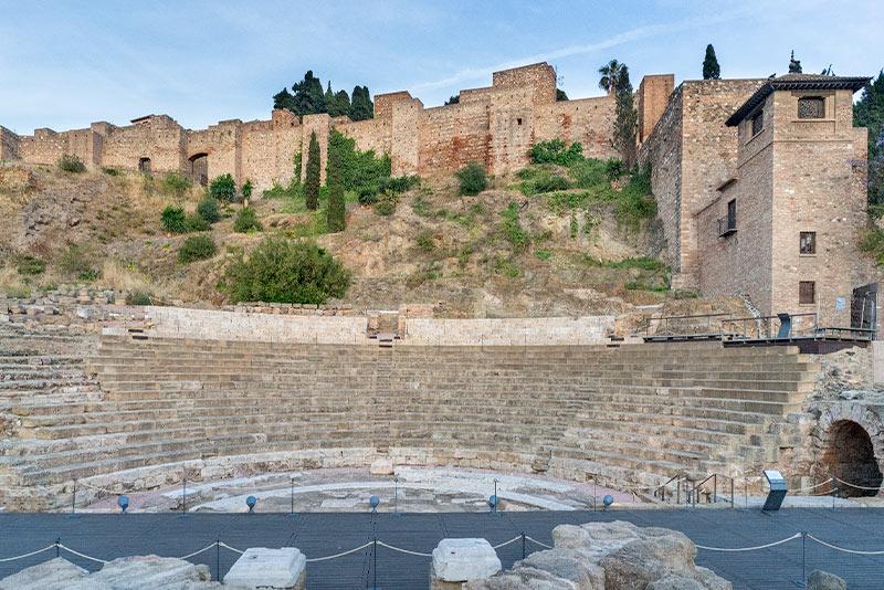 Alcazaba - Malaga Spain