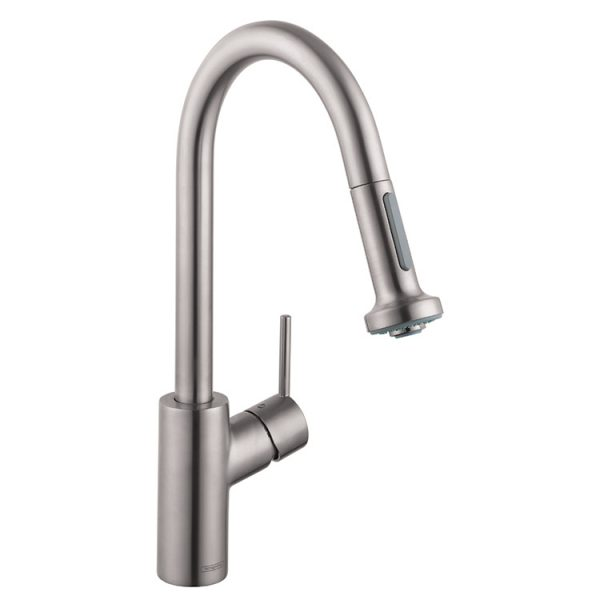 hansgrohe talis steel optic s2 kitchen faucet