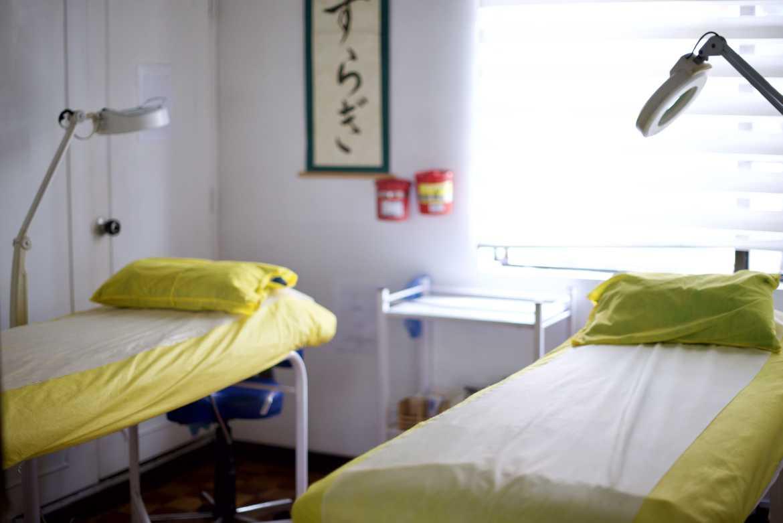 Zona para masajes
