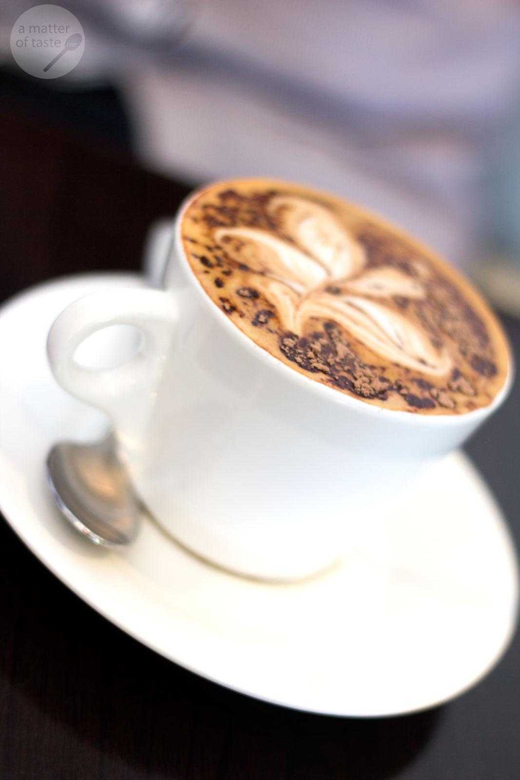 Double Shot New Farm Cappuccino