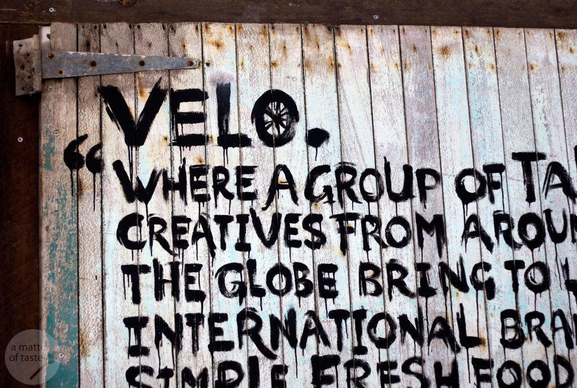 The velo project