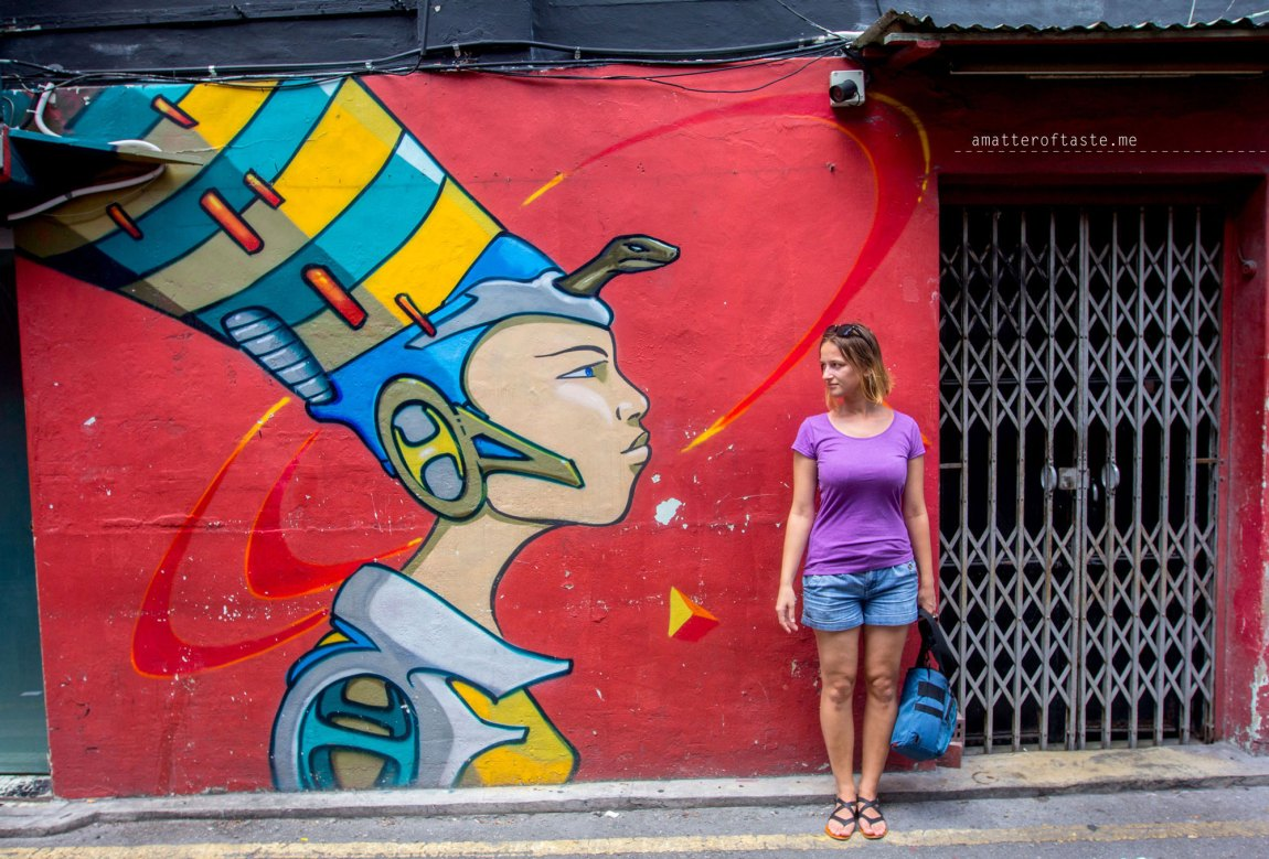 singapore Haji Lane Street Art