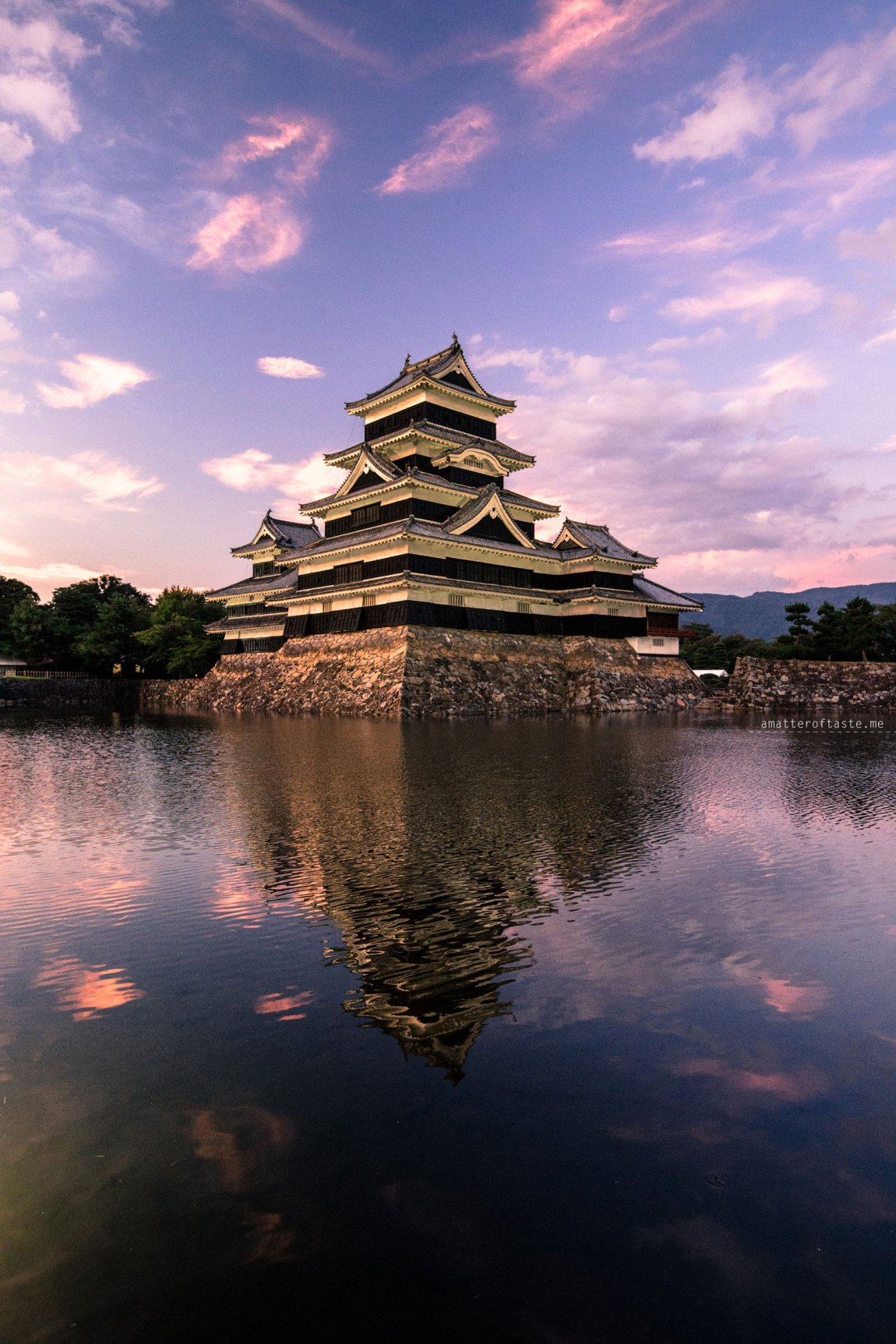 Matsumoto Castle by a matter of taste