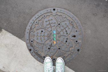 manhole covers japan
