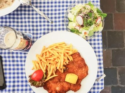 Bamberg Germany road trip Zum Kachelofen lunch