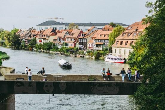 Bamberg Germany road trip bridge
