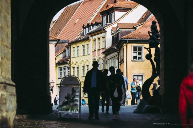 Bamberg Germany road trip city street