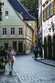 Bamberg Germany road trip street