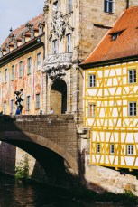 Bamberg Germany road trip town hall