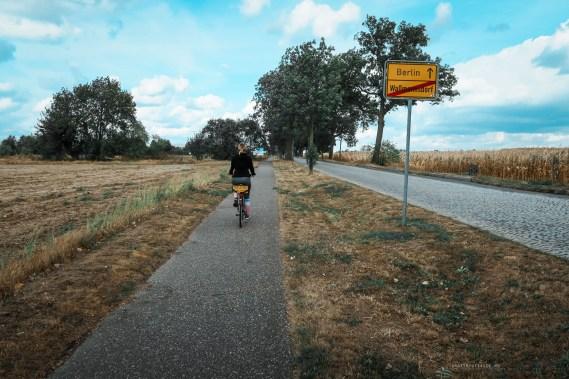 Berlin bikes road