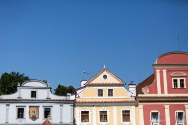 Czech Republic beautiful colourful square