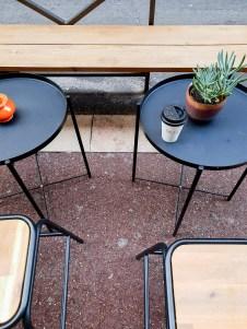 Deep Marseille coffee shop take away cup