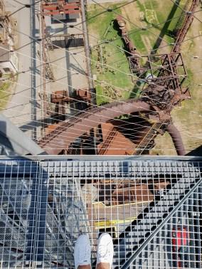 Dolni Vitkovice Bolt Tower view down