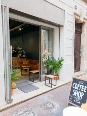 Ginger Marseille coffee shop