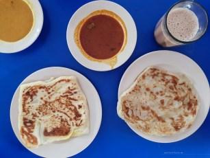 KL Malaysia street food roti