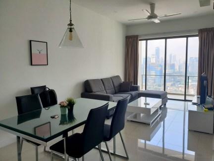 Kampong Baru Malaysia KL apartment living room