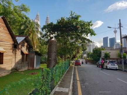 Kampong Baru Malaysia KL apartment village city