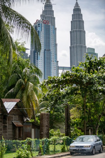Kampong Baru Malaysia KL village KLCC