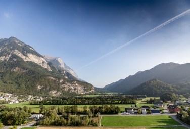 Liechtenstein road trip Balzers mountains