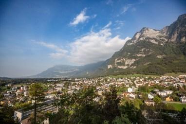 Liechtenstein road trip Balzers view